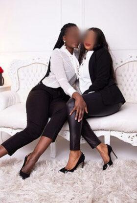 Lesbisches Duett Verena & Nadja